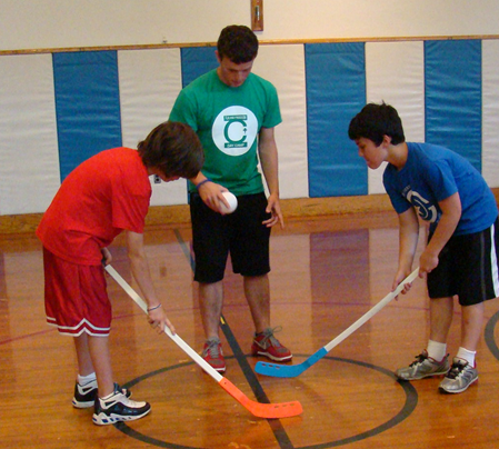 Pic for DayCamp 2014 Web Page - Floor Hockey